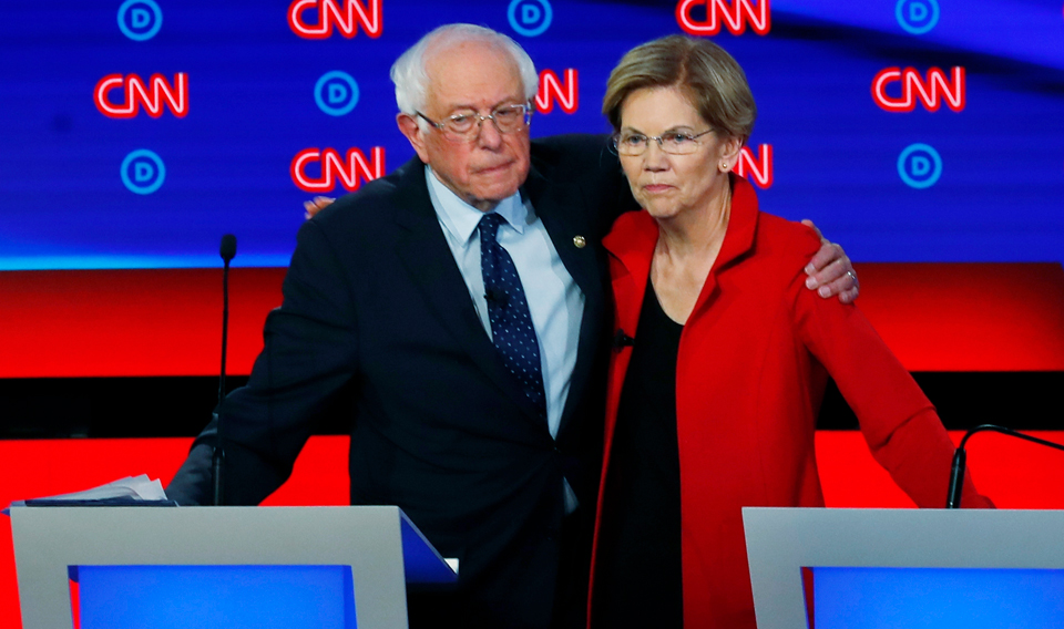 Following corporate media's Warren-Sanders controversy, progressive groups call for unity