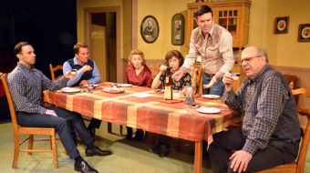 World premiere 'Sunday Dinner': Family dysfunction writ large on a small stage
