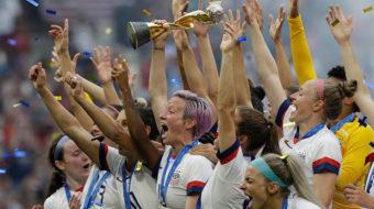 'Pay them triple' U.S. soccer men's union backs women's team's call for pay equity