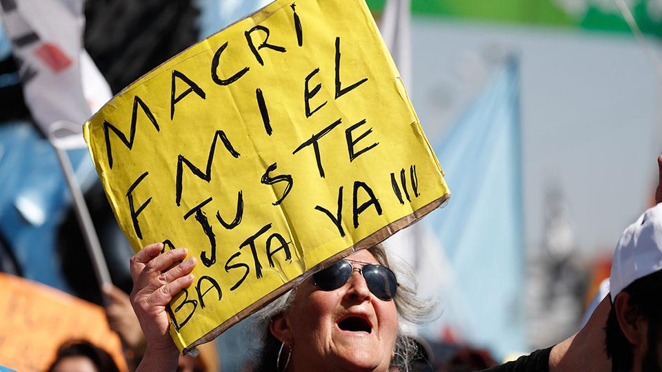 Argentina quiere decir «nunca más» a la deuda externa