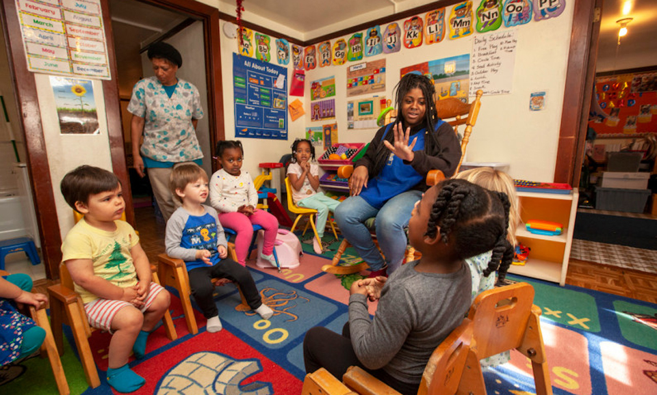Unions gear up for big election among California child care providers