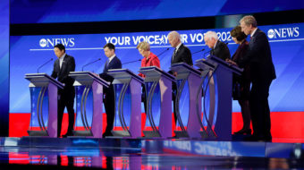 After Bloomberg, climate was public enemy no. 2 at Nevada Democratic debate