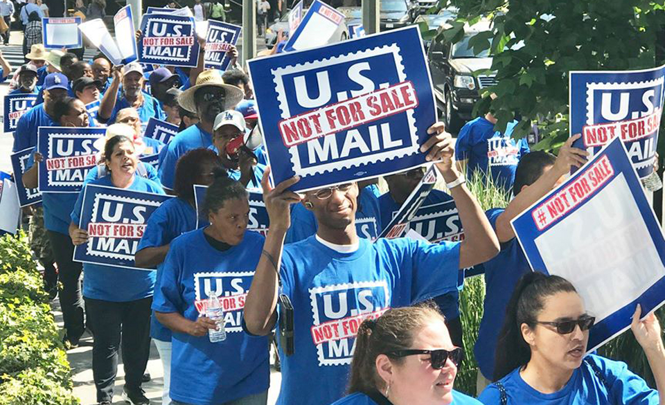 """Nationwide """"U.S. Mail is Not for Sale"""" call-in February 25"""