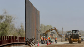 Trump building border wall – and tearing down Native American burial sites