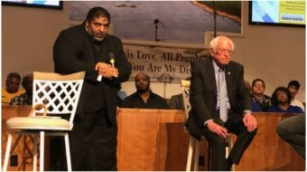 Sanders joins Rev. Barber at New Poor People's Campaign