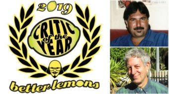 People's World critics Ed Rampell and Eric Gordon win Better Lemons awards