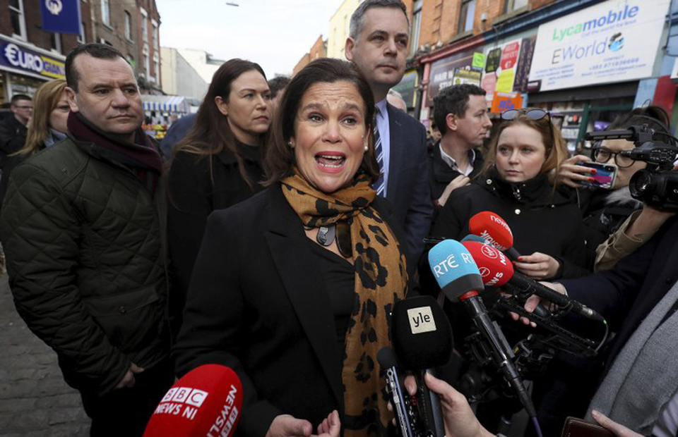 "Left-wing ""Sinn Féin"" wins historic victory in Ireland"