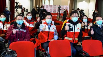 China sends medical experts to support Italy's fight against coronavirus