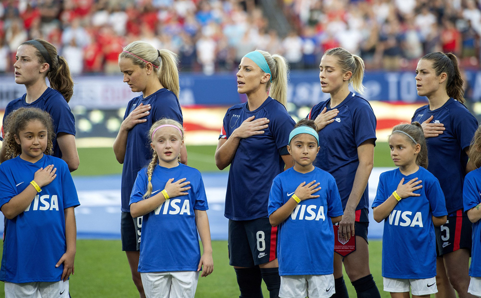 """Soccer prez: """"We're sorry for…(checks notes) our blatant sexism."""""""
