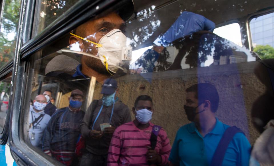 IMF rejects Venezuela coronavirus loan request over U.S. claims Maduro isn't president