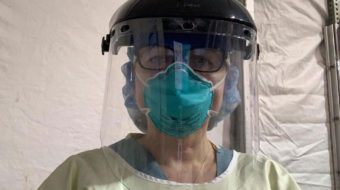 Brooklyn nurse: My patient wore a mask while I had none