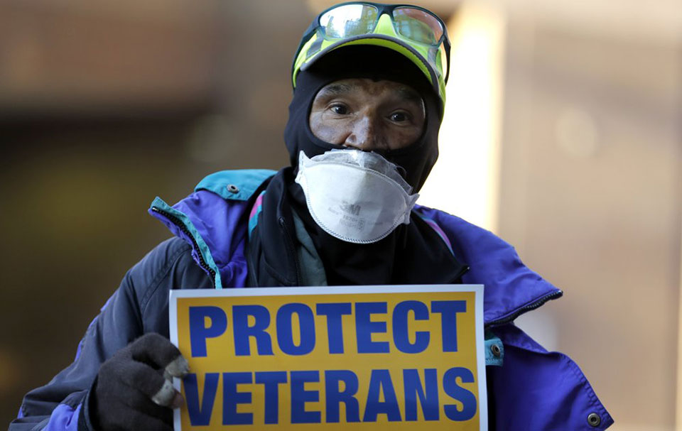 Veterans face trouble as VA facilities struggle to cope with coronavirus