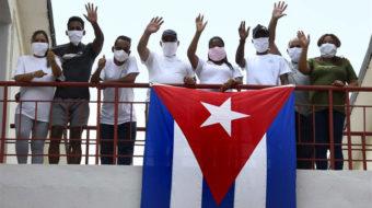 Voluntarios cubanos apoyan lucha contra la COVID-19