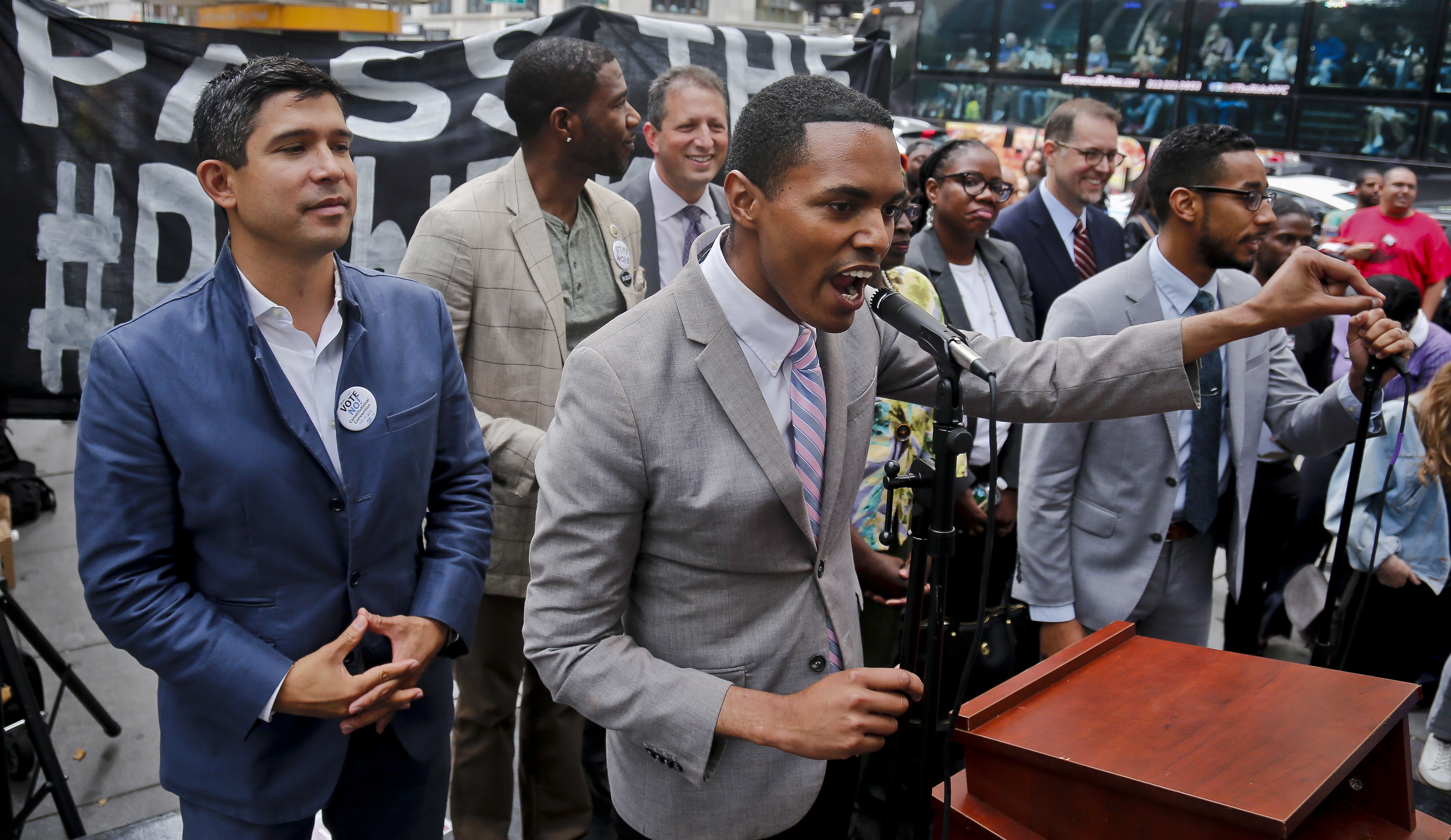 Bronx's first gay city council member likely wins in NY-15