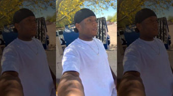 Protesting in Phoenix for Dion Johnson, another Black man killed by police