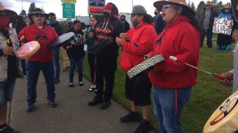 George Floyd mourned in small town vigils despite armed vigilantes