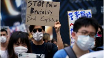 Activists in Japan join the global Black Lives Matter movement