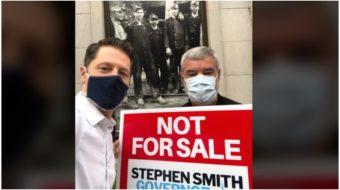 Stephen Smith, progressive W.V. candidate, turns campaign into anti-COVID battalion