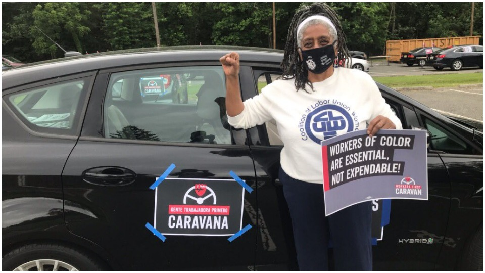 'Workers First' car caravans drive mass turnouts nationwide