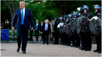 Turning point: Trump threatens military rule, turns country toward fascism