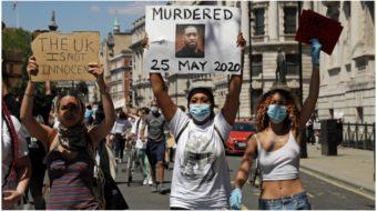 Black Lives Matter U.K.: London activists demand justice for George Floyd
