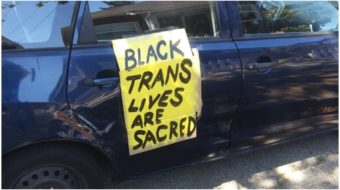 Oakland demonstrators say, 'Black Trans Lives Matter!'