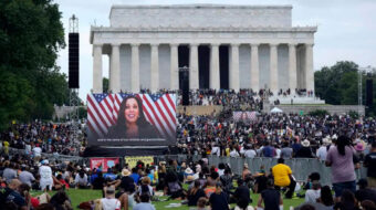 Black police victims' relatives urge action at mass march in D.C.