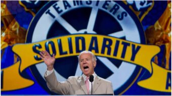 Teamsters union gives thumbs up to Biden-Harris ticket