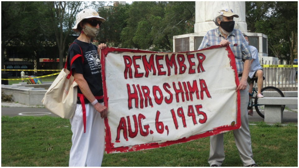 """Connecticut activists take up Hiroshima mayor's call: """"Unite against all threats"""""""