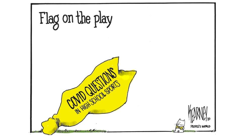 Flag on the play: Coronavirus raises school sports safety questions