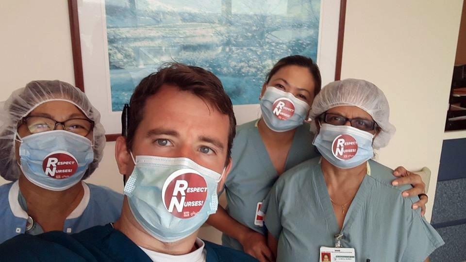 Nurses to hit the streets, again, for protective coronavirus gear
