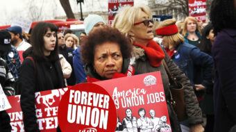 Unions praise Ginsburg, demand no replacement till next presidency