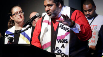 Rev. Barber: Poor people can produce top to bottom change on Election Day