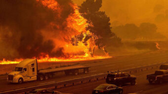 California wildfires torch 10,000 acres in a single day