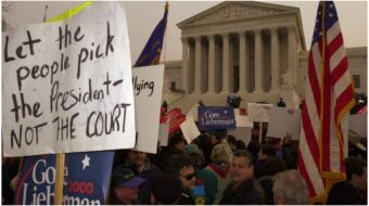 Coup by court: Republicans prepare legal challenges that echo 2000 fight