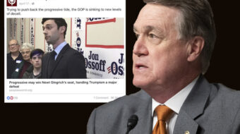Republican senator uses People's World in anti-communist smear attack