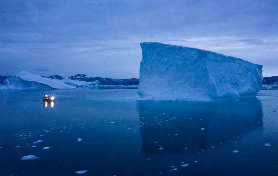 Greenland ice sheet melting faster than any time in last 12,000 years