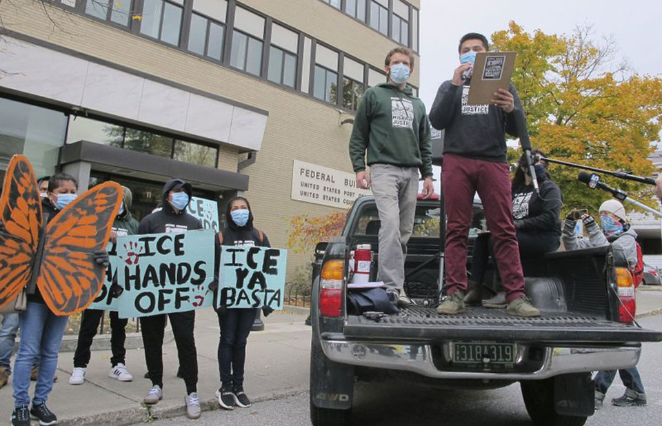 Farm workers, including organizers, beat Trump twice in federal court in one day
