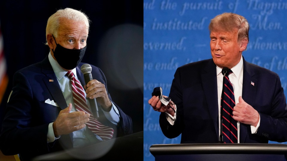 Biden proposes science-driven COVID plan; Trump says Americans are on their own