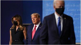 Trump offers lies, distortions, and excuses during last debate