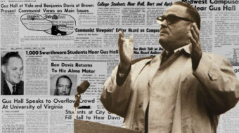 Book preview: Gus Hall and the Communist campus tour of 1962