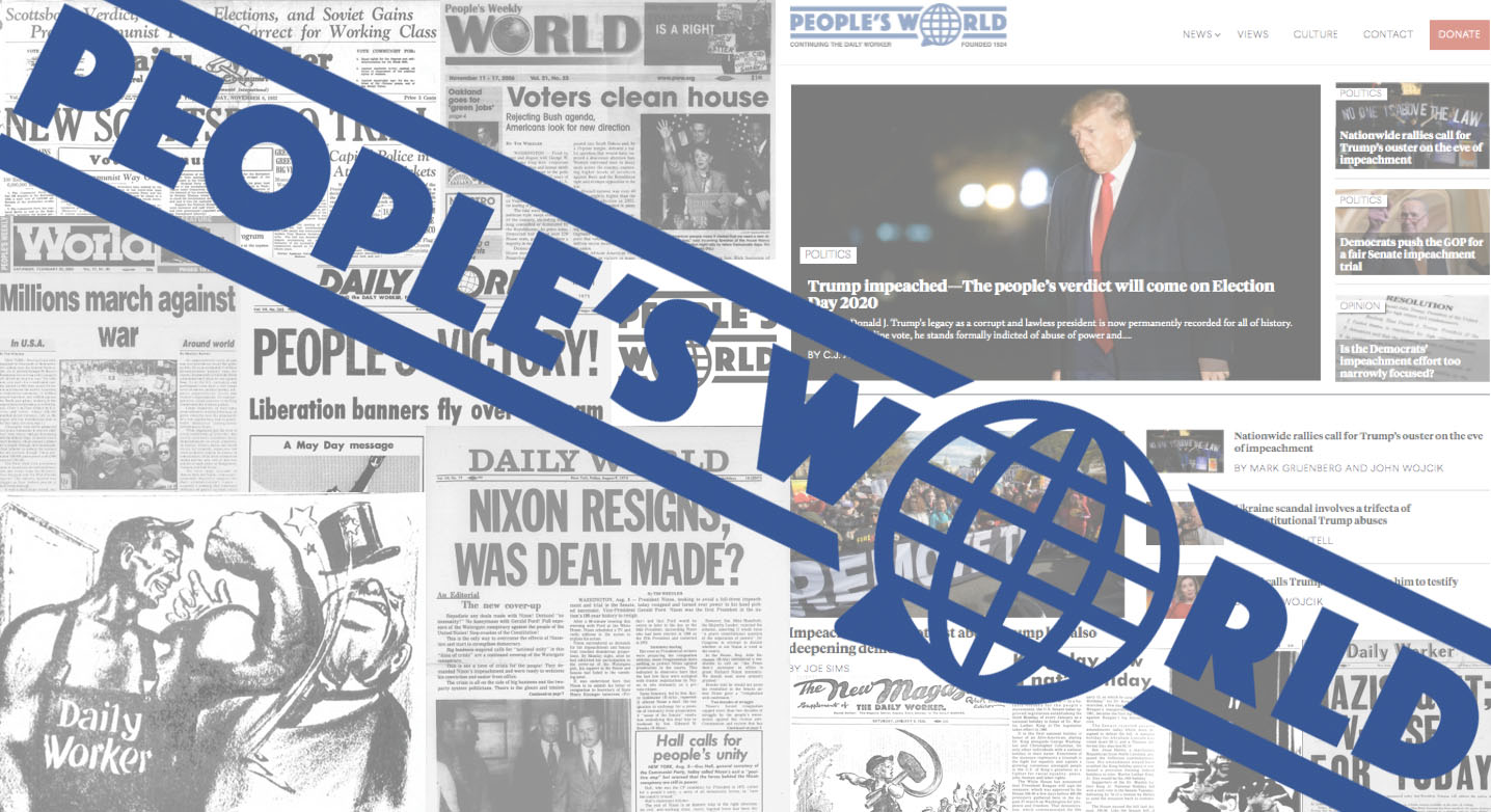 People's World needs your help to keep publishing