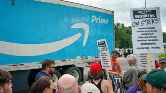 Amazon warehouse workers in Alabama file for union recognition