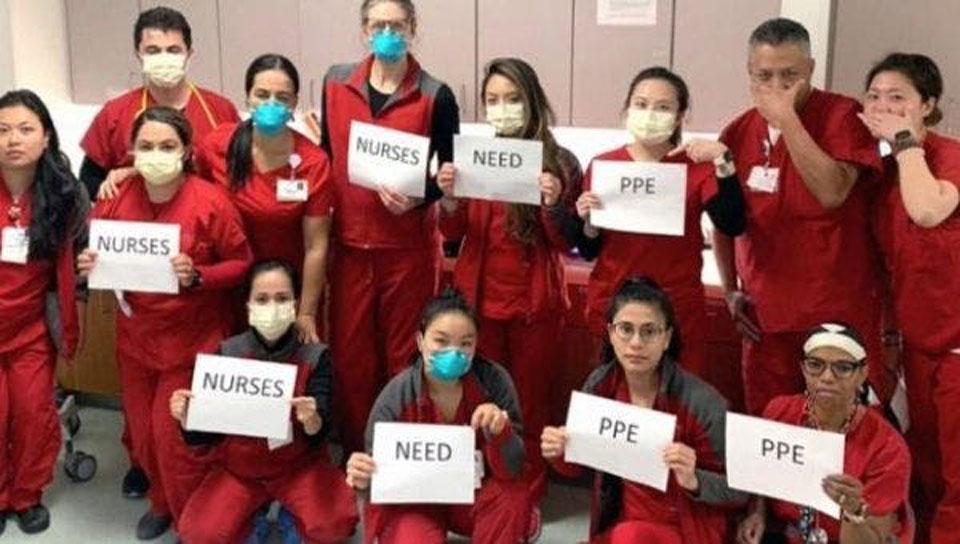 Nurses' survey: Hospitals still flunk in protecting nurses from coronavirus