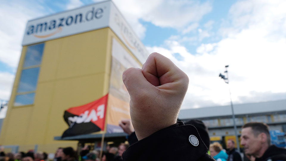 German workers not allowing COVID to dampen their struggles