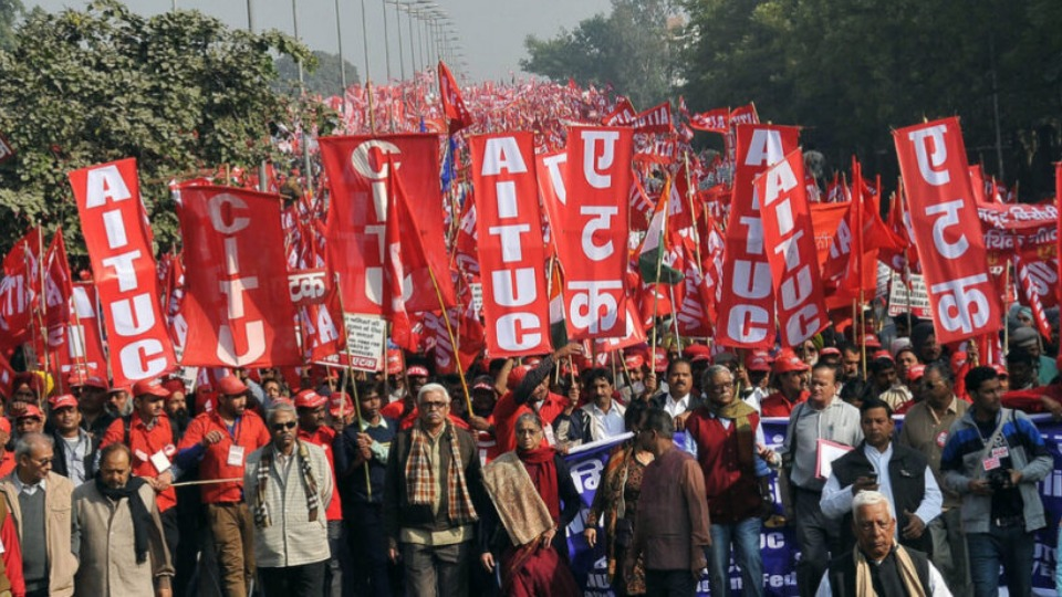 250 million Indian workers and farmers strike, breaking world record