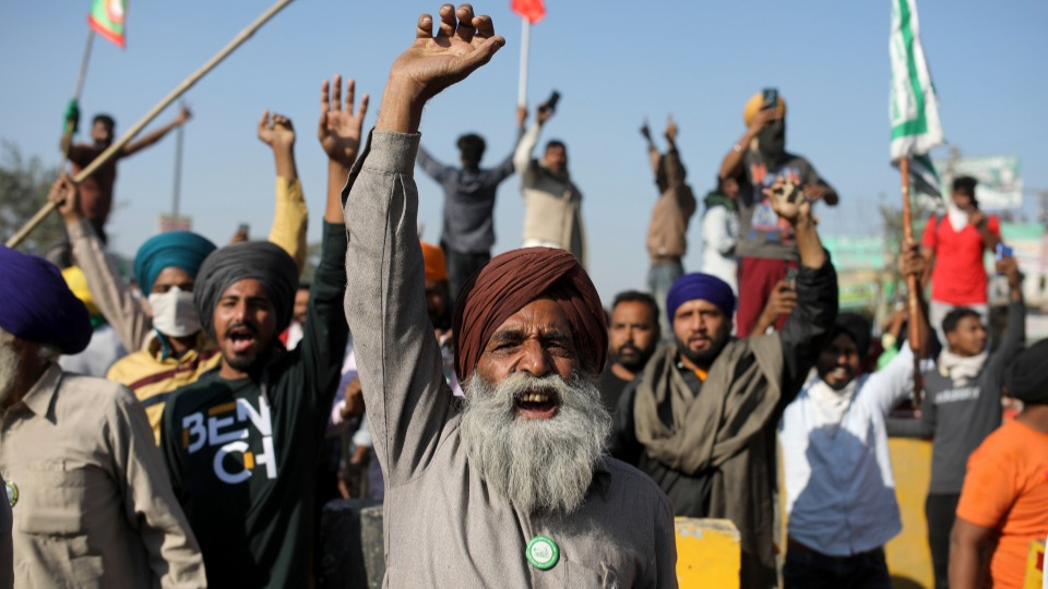 Resistance in the face of repression: India's striking farmers share their stories