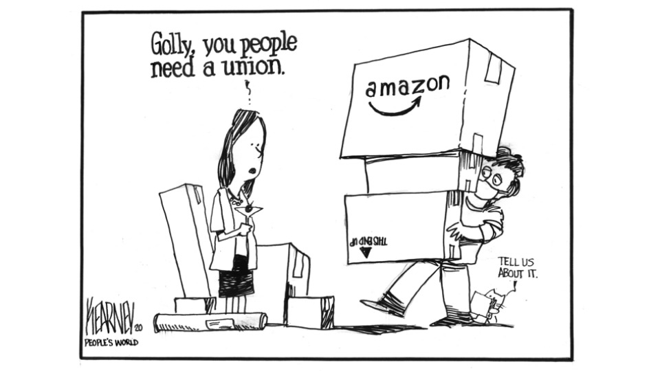Amazon is Prime'd for unionization this holiday shopping season