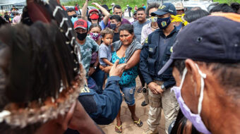 Indigenous people block Trans-Amazon Highway protesting industrial drought