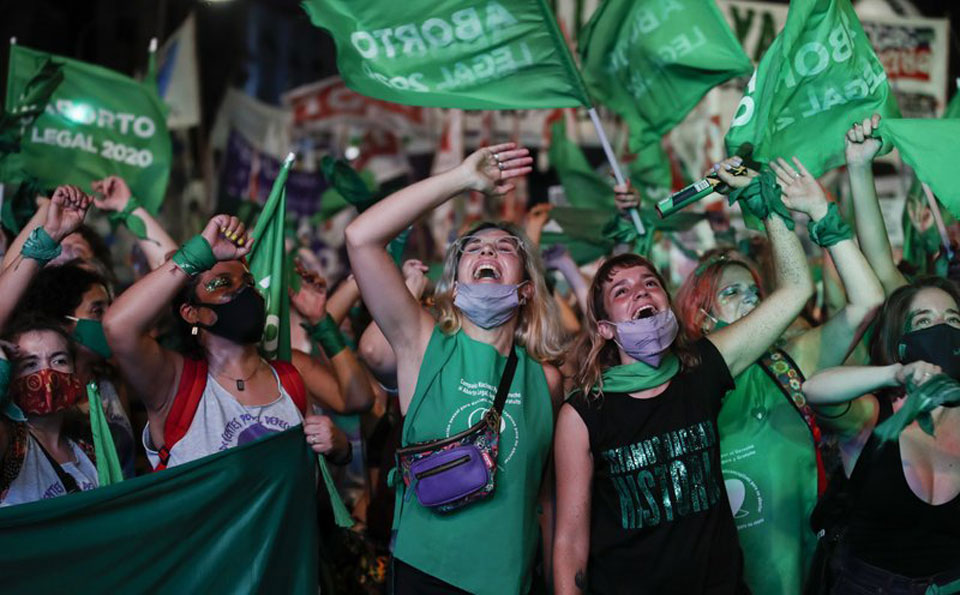 Argentina's abortion law enters force under watchful eyes